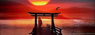 couverture journal Facebook coucher de soleil