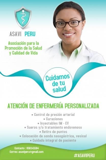 ASAVI PERU - Enfermería personalizada