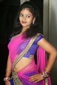 Young actress Jaya Harika in half saree-thumbnail-5