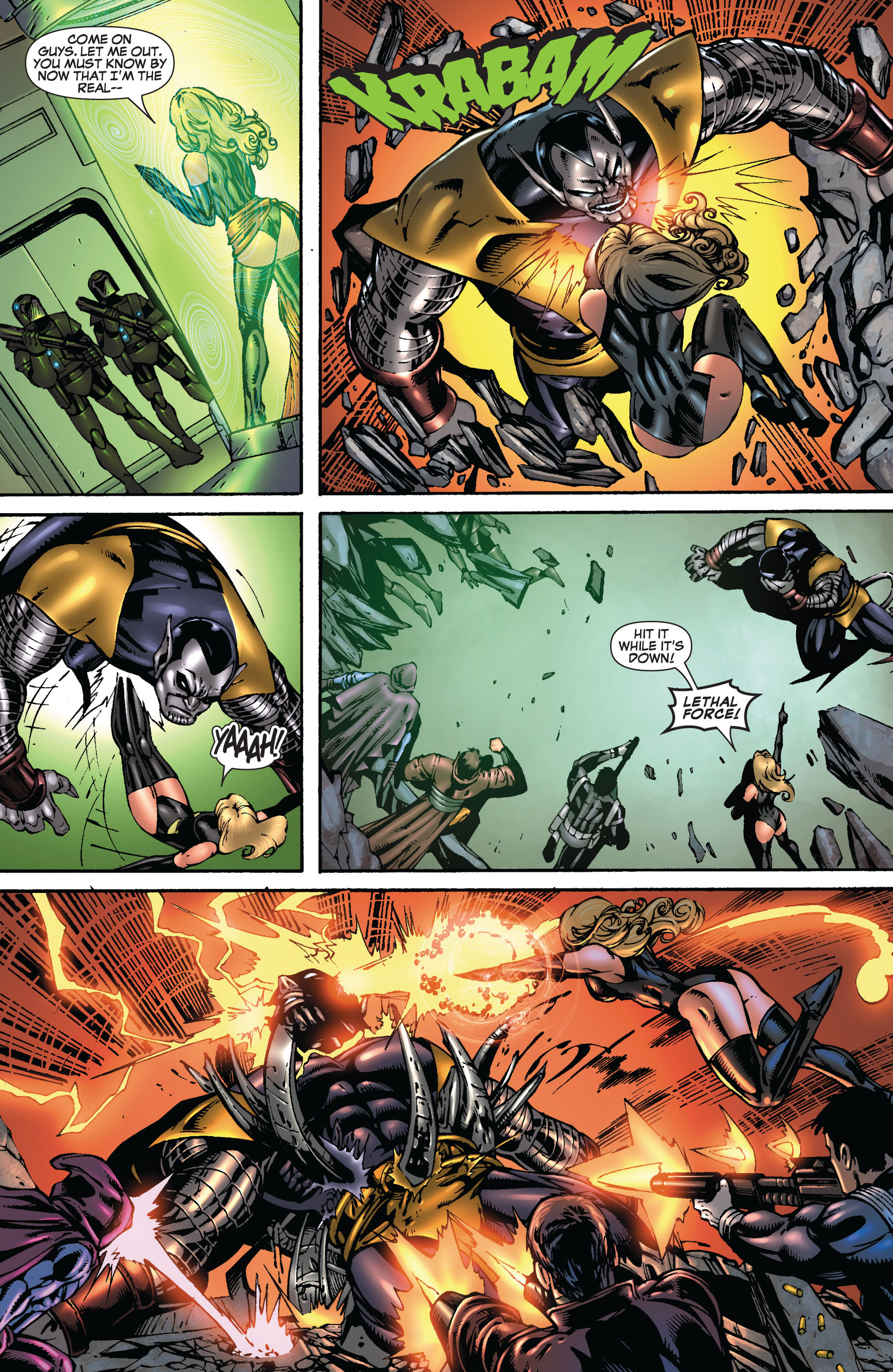 Read online Secret Invasion: The Infiltration comic -  Issue #9 - 22