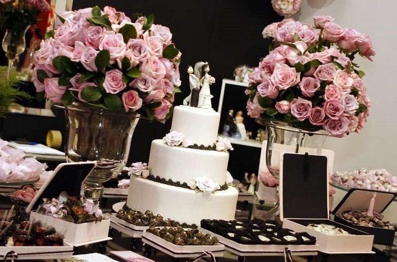 decoracao tudo branco:Casamento Rosa E Marrom