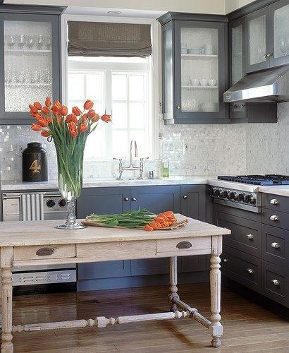 The Polished Pebble: Kitchens With Clutter...What Do We