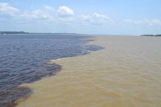 historia de manaus - encontro das águas
