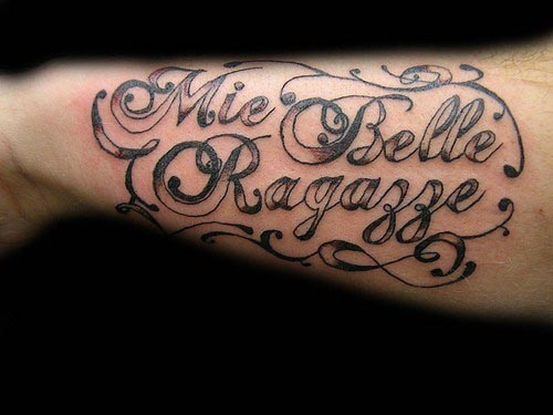 Latin Phrases Tattoos