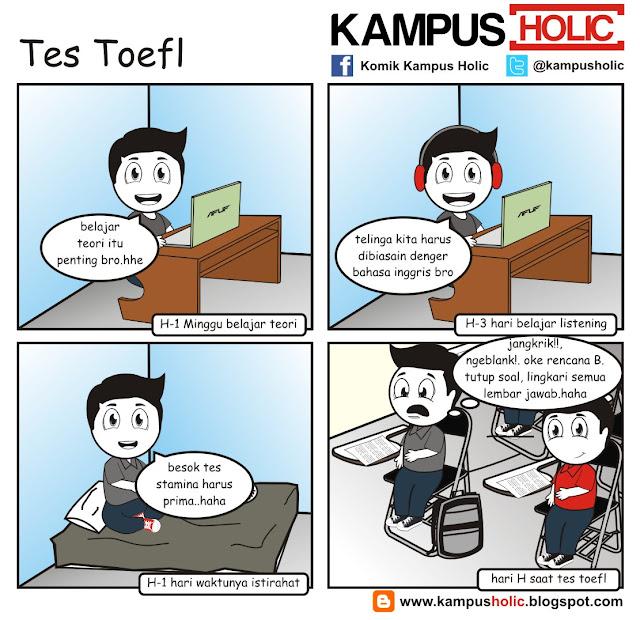 #074 Tes Toefl mahasiswa