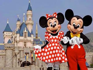 Os 60 anos da Disney Land Estados Unidos