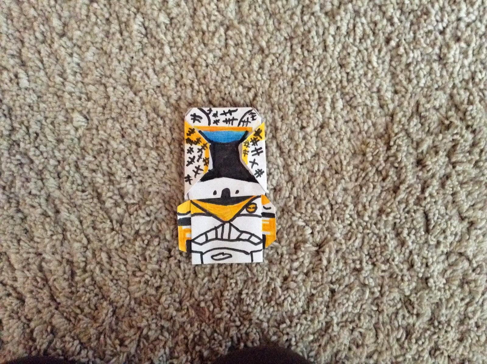 Super Folder Xavier's Origami: Gregor for wiztorn's clone ... - photo#16