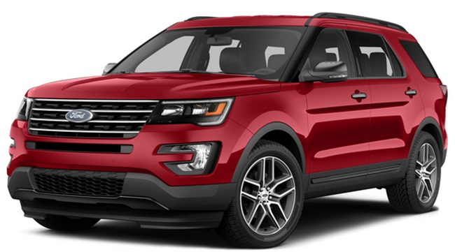 Ford Explorer Limited Price Uae