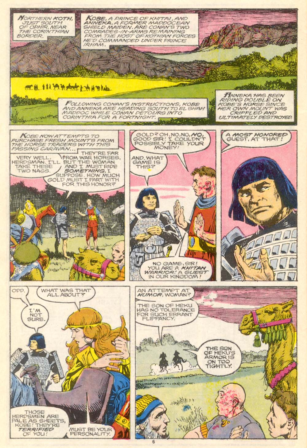 Conan the Barbarian (1970) Issue #205 #217 - English 7