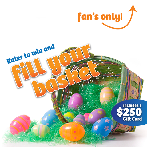 Enter to win an Easter Basket from AutoZone and BlueDevil. Ends 4/18.