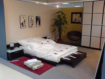 dormitorio con tatami