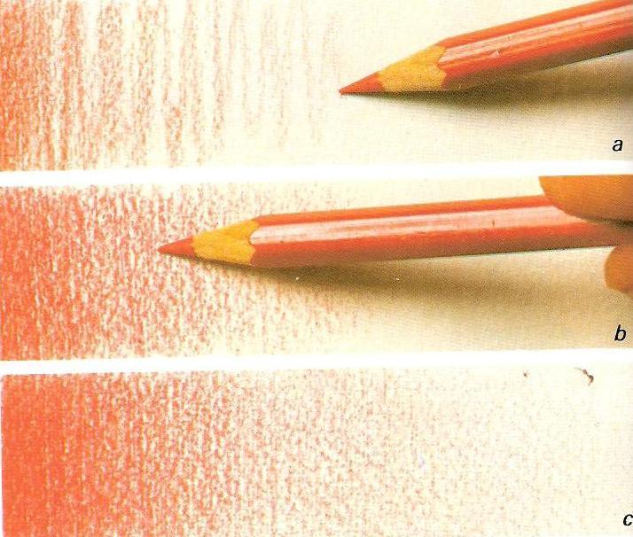 Como pintar con lapices de colores  INTRODUCCIN AL DISEO