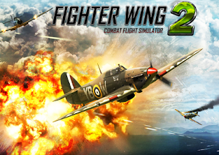 FighterWing 2 Flight Simulator Mod Apk 2.59 Unlimited Money-cover