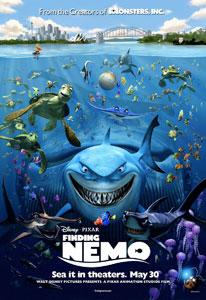 Poster original de Buscando a Nemo