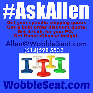 WobbleSeat.com The Answer Man: AskAllen for quotes and PO support
