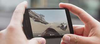 A 360-degree Star Wars video on Facebook