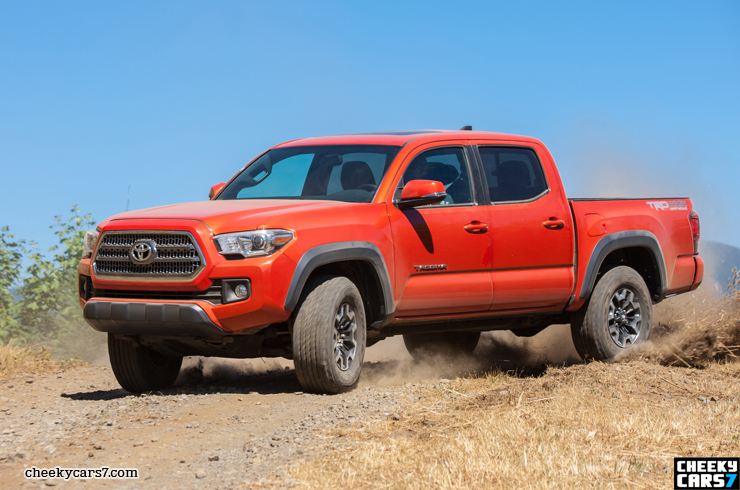 2016 Toyota Tacoma TRD Off-Road redesign pics, images and video / New Toyota Tacoma 4x4 colors ...