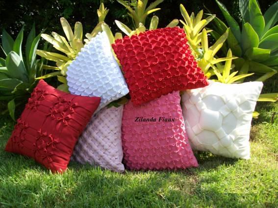 Almofada em tecido oxford