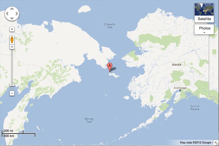 Similiar Map Of Siberia And Alaska Keywords