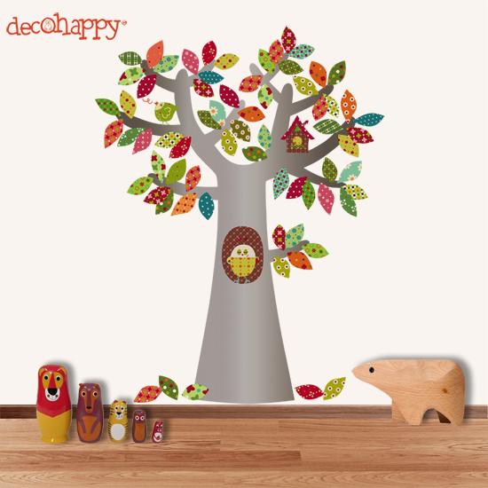 Imagenes de unos arboles en caricatura infantil imagui - Vinilos de arboles infantiles ...