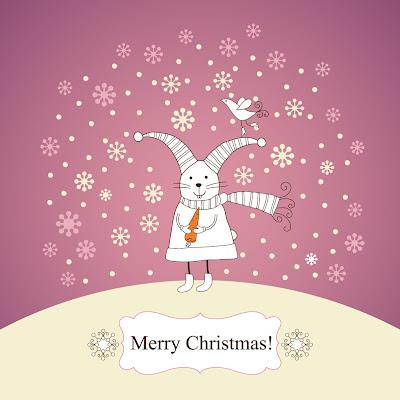 Christmas Rabbit Wallpapers