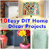 10 DIY Home Décor Projects