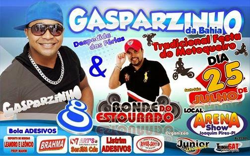 Tradicional festa dos motoqueiros traz Gasparzinho da Bahia