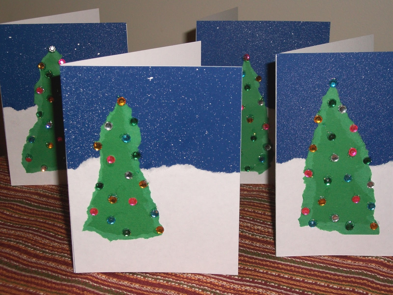 A Word From Aunt B: Oh Christmas Craft, Oh Christmas Card