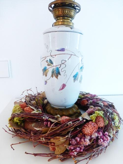 Dekoration Herbst Vintage Kranz