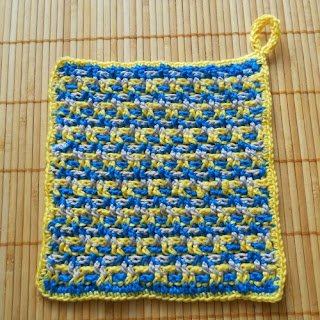 "Crochet dishcloth"" height="