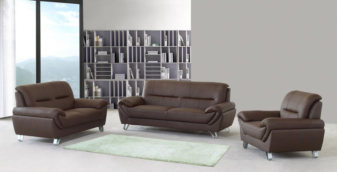 Luxury leather sofa sets designs an interior design for Leather sofa set