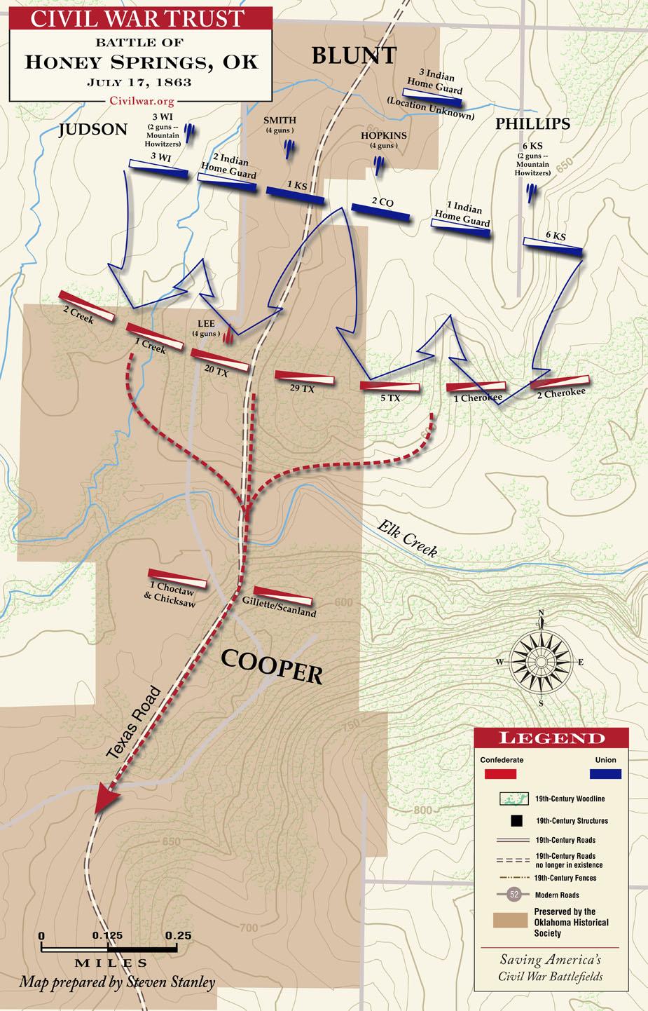 map courtesy of civil war trust www civilwar org