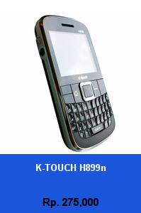 Daftar HP Murah K-Touch H899n - wedhanguwuh.com