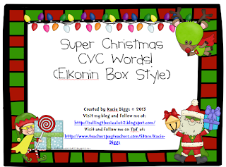 http://www.teacherspayteachers.com/Product/Super-Christmas-CVC-Words-Elkonin-Boxes-1016788