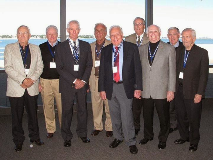 "Secret Service ""reunion"" at the JFK Library 9/3/13:"