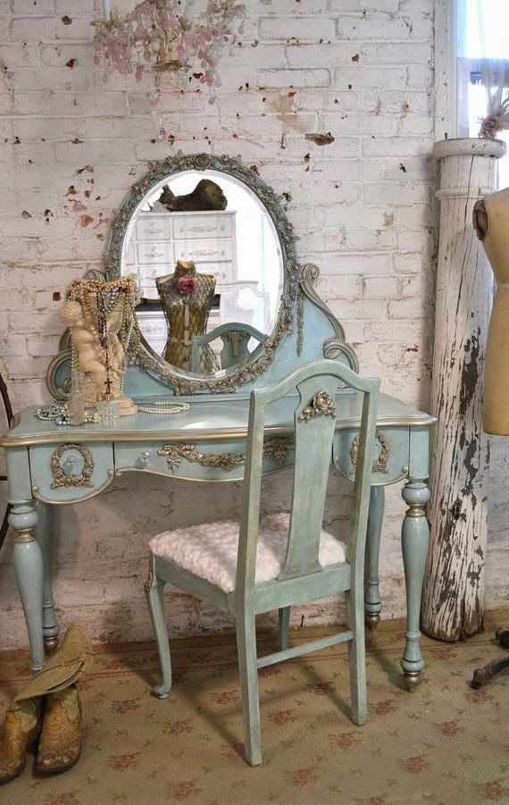 Shabby In Love Turquoise Home Decor