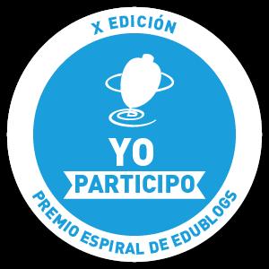 ¡Apoyamos en los Premios Espiral Edublogs!
