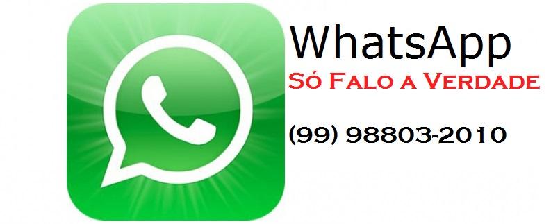 VOCÊ FAZ A REPORTAGEM, ENVIE SUA DENÚNCIA OU SUGESTÃO VIA WhatsApp