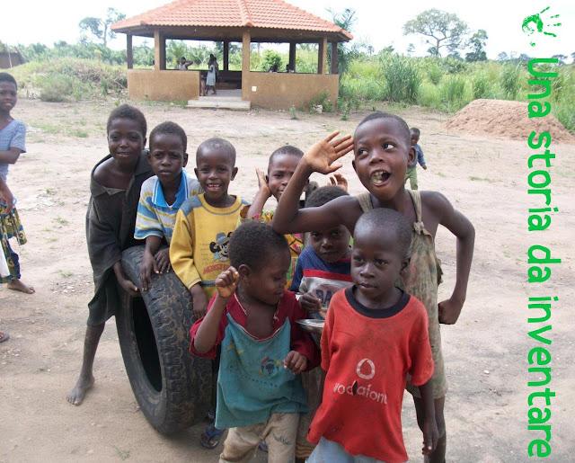 I bambini di Atchanvé, Togo, Africa
