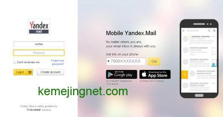 Cara Membuat Email Di Yandex