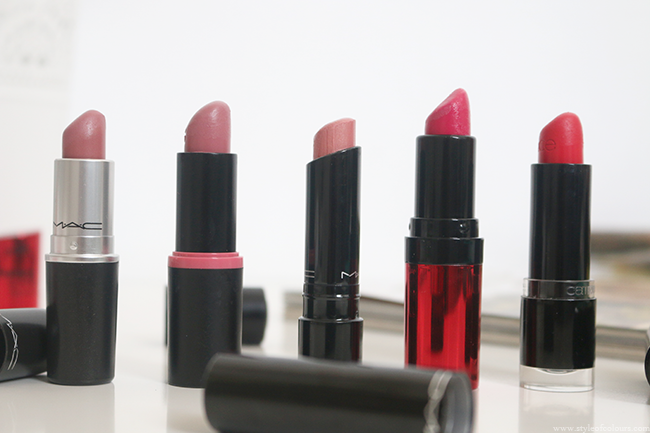 Summer Favourites: Highend and Drugstore lipsticks
