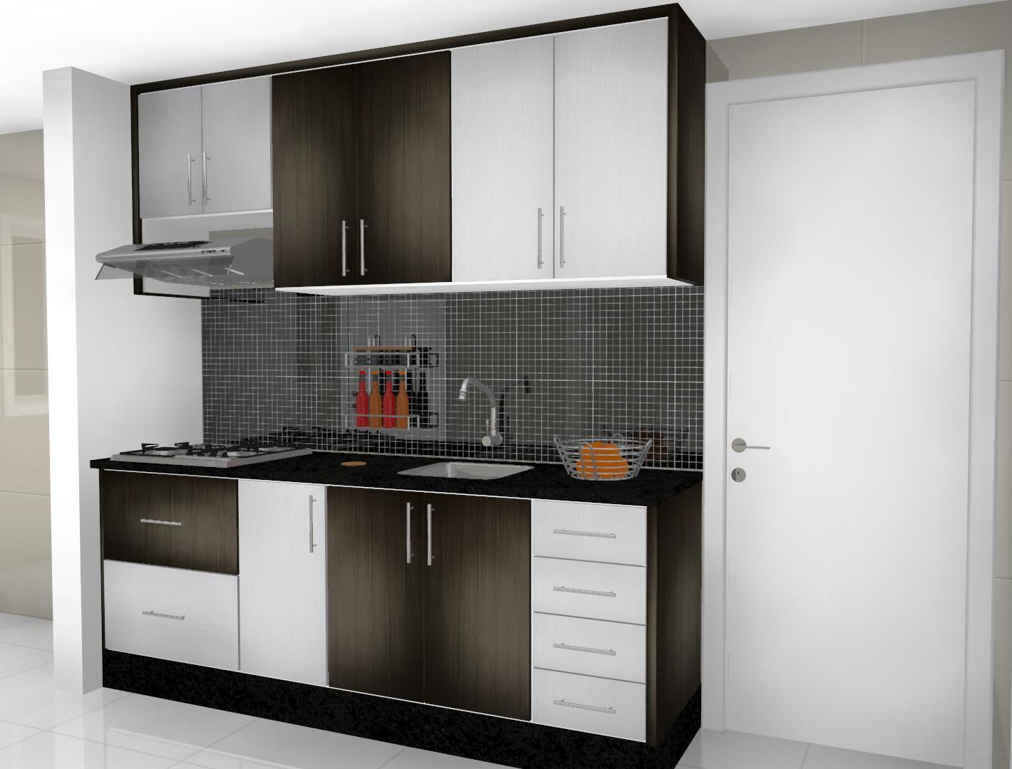 Espaço Nobre Design: Cozinha (Ébano Exótico Montego Blanc) #5E4D40 1420 1080