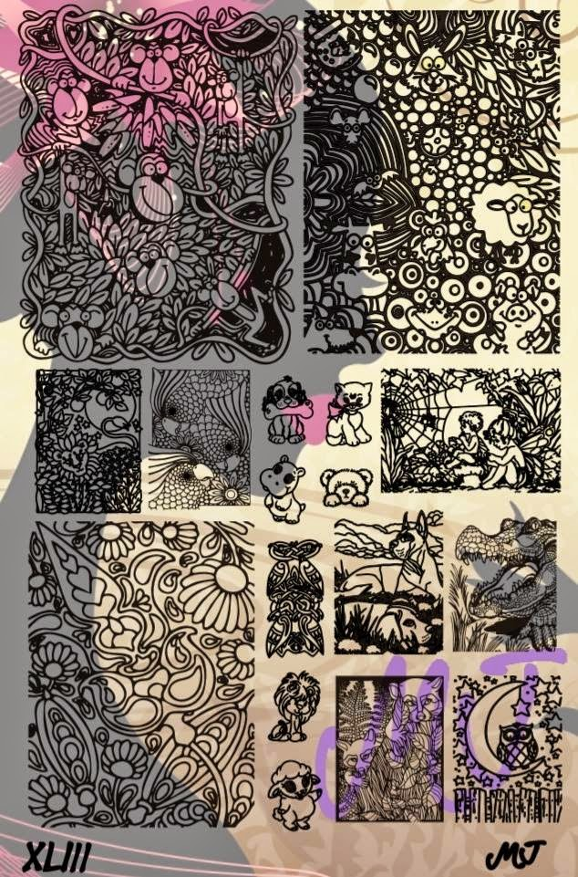 Lacquer Lockdown - MyOnline Shop, new stamping plates 2015, new nail art stamping plates, 2015, nail art stamping, nail art stamping blog, stamping, nail art, diy nail art, cute nail art idea, cool image plats, pop culture image plates, dashica dupes