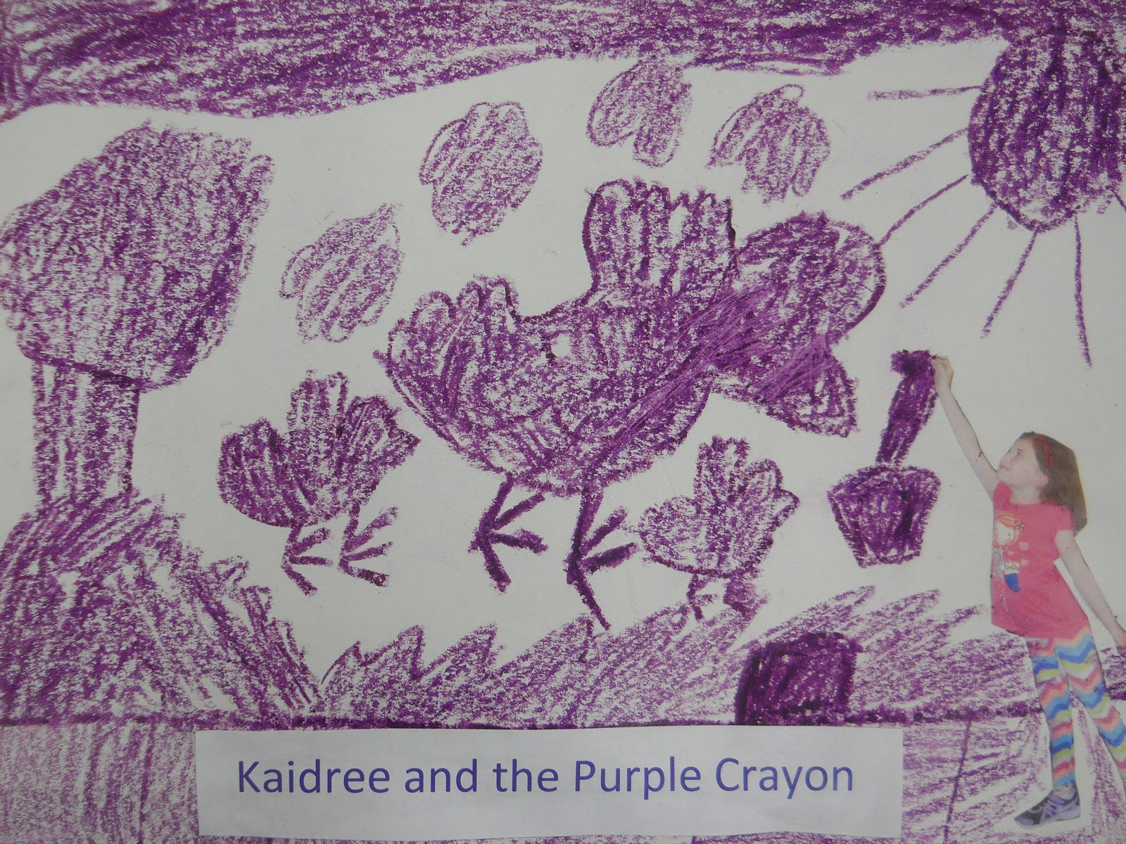 Mrs t 39 s first grade class harold and the purple crayon for Harold and the purple crayon coloring pages
