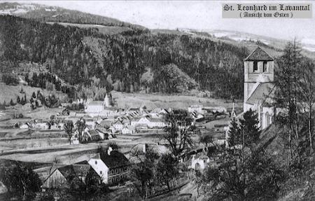 Bad St. Leonhard - Bilder einer Stadt