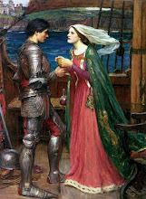 Hay amores que matan. Tristán e Isolda. John William Waterhouse