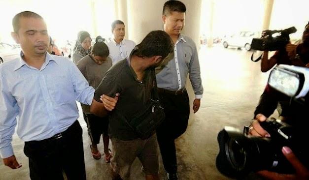 Gambar Suami Isteri Didakwa Songlap Duit Empat Akaun Penumpang MH370