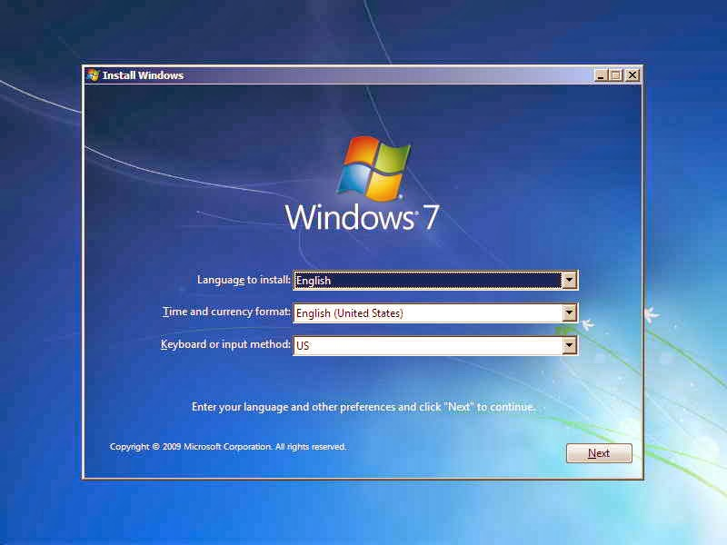 Cara Install Ulang Windows 7 Cepat Dan Mudah