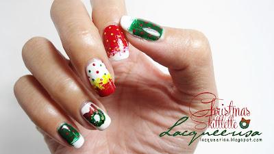 Lacqueerisa: Christmas Skittlette
