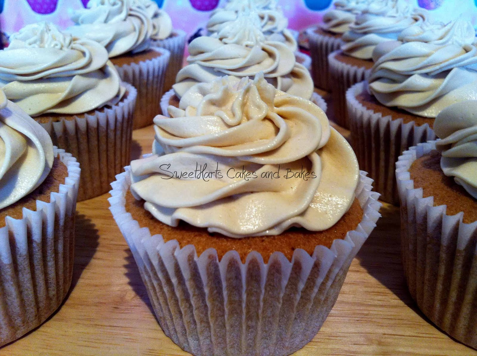 Coffee Cupcakes...My Compromise!